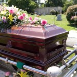 Funeral planning includes purchasing a casket