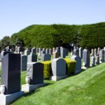Funeral planning to choose a cemetery.
