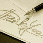 Writing Funeral Thank You Notes