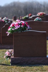 Selecting Grave Flowers