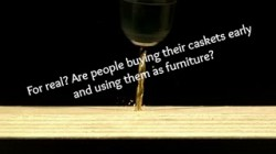 Coffin and Casket Furniture