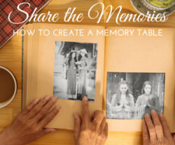 How to Create a Memory Table