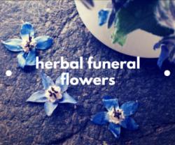 Herbal Funeral Flowers