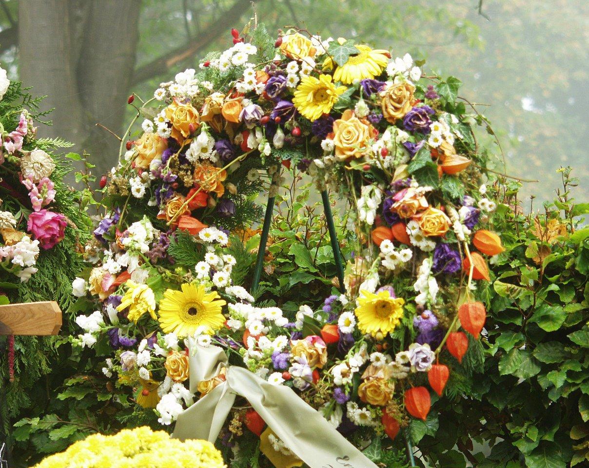 Funeral Flower Terminology
