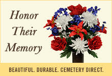 Send cemetery flowers to Cedar Hill Cemetery Association
