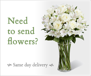 need to send flowers? Same day delivery