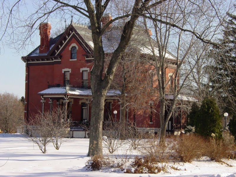 Martin Mitchell Mansion Naper Settlement Naperville Illinois Nauvoo Funeral Homes Services Flowers