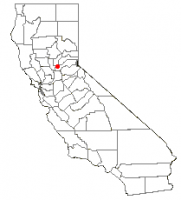 Location of Lincoln, California
