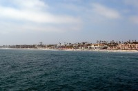 Oceanside Beach Panorama