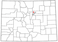 Location of Northglenn, Colorado
