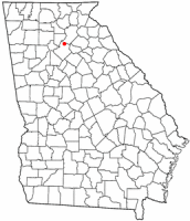 Location of Buford, Georgia