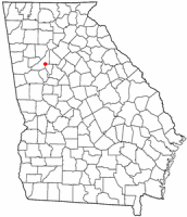 Location of College Park, Georgia