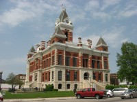 Gibson County Courthouse in Princeton