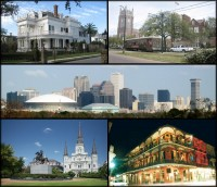 New orleans montage