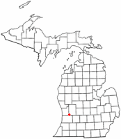 Location of Byron Center, Michigan