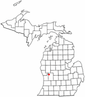 Location of Sparta within Michigan