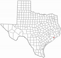 Location of League City, Texas