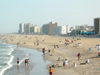 Virginia Beach from Fishing Pier