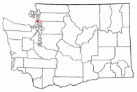 Location of Oak Harbor, Washingt