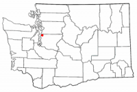 Location of Shoreline, Washington