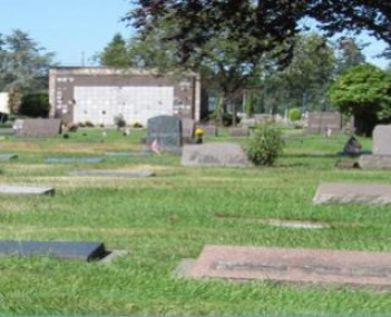 Exterior shot of Marysville Cemetery