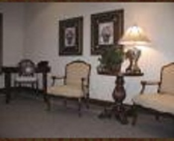 Interior shot of Bradley & Hadley Funeral Home