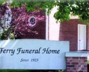 Exterior shot of Ferry Funeral Home