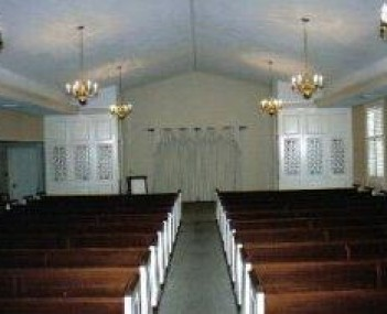 Interior shot of Ferry Funeral Home