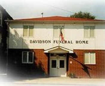 Exterior shot of Davidson Funeral Home