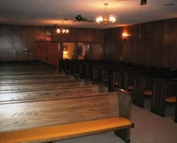 Interior shot of Brown-Holley Funeral Home