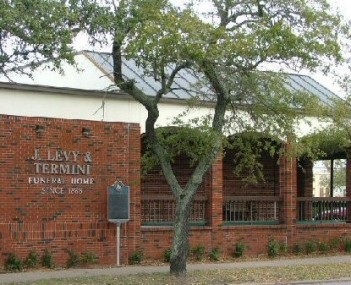 Exterior shot of J Levy & Termini Funeral Home