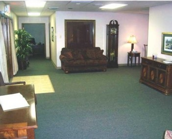 Interior shot of Heritage Funeral Home of Memory Gardens