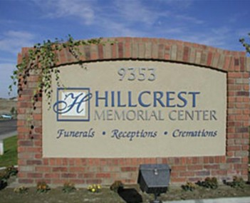 Exterior shot of Hillcrest Memorial Center