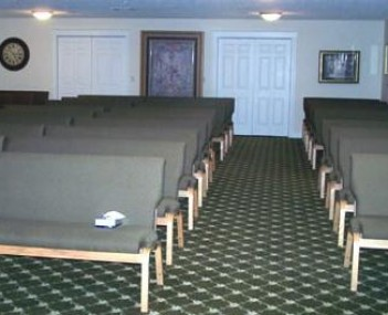 Interior shot of Crabiel-Riposta Funeral Home