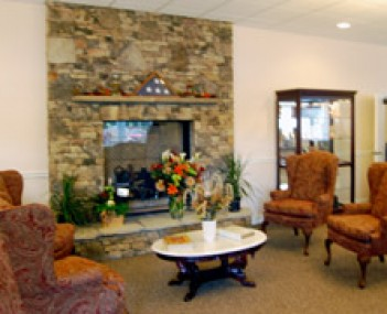 Interior shot of Appalachian Funeral Services