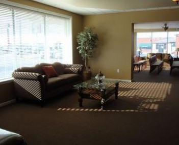 Interior shot of Castle Hill Funeral Home & Cremation Services