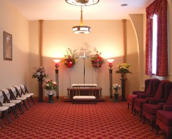 Interior shot of Baloga Funeral Home Inc.