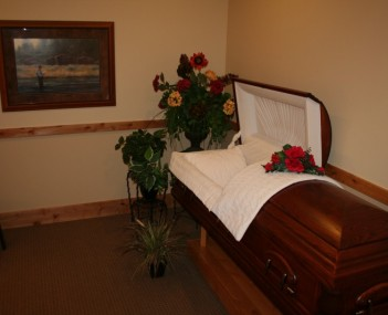 Interior shot of Bell Tower Funeral Home And Crematory