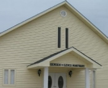 Exterior shot of Semien-Lewis Mortuary