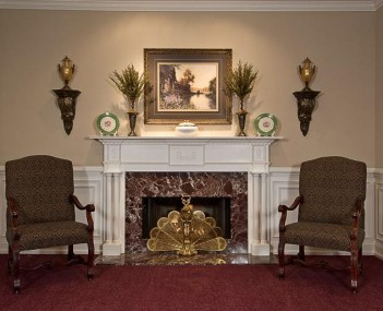 Interior shot of Hegarty Michael Funeral Home
