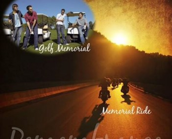 We offer memorial golf outings, memorial parties at golf courses, and memorial motor cycle rides.
