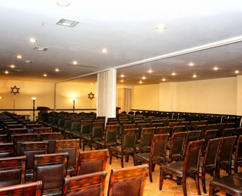 Our funeral home has 3 chapels we can set up 500 family members friends and coworkers