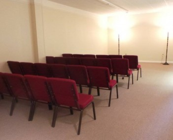 Vilonia Funeral Home Chapel / Visitation Room