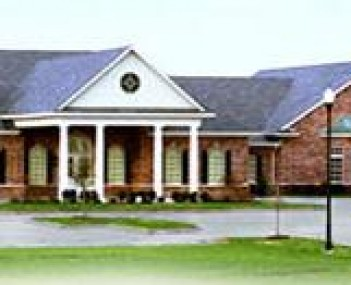 Exterior shot of Coker-Mathews Funeral Home