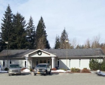 Exterior shot of Alaskan Memorial Park & Legacy Funeral Homes