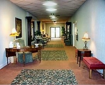 Interior shot of Akins Funeral Home Incorporated