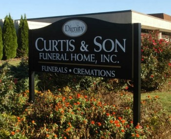 Exterior shot of Curtis & Son Funeral Home Incorporated