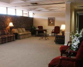 Interior shot of Curtis & Son Funeral Home Incorporated