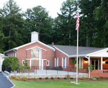 Exterior Shot of Radney's Funeral Home Incorporated