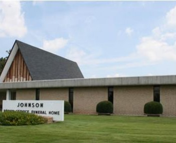 Exterior shot of Johnson Brown Service Funeral Home